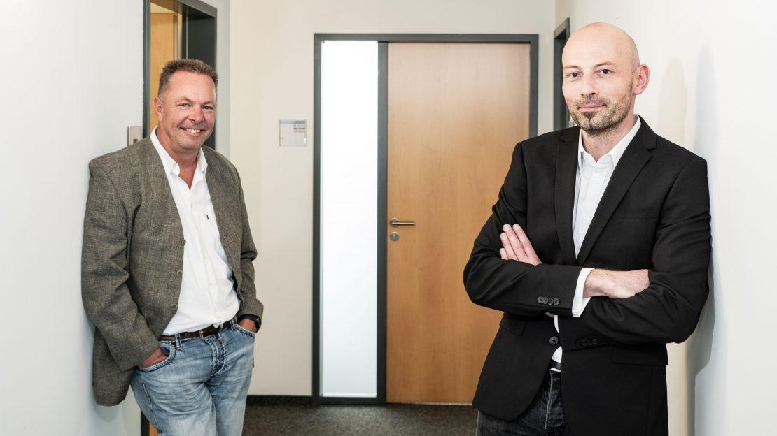 Sven Dreyer (links) und Bernd Schneider (rechts)